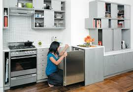 smart kitchen design kitchen smart kitchen storage with cream cabinet and brown floor