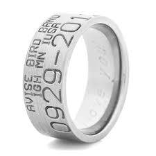 duck band wedding rings titanium split back duck band wedding ring titanium buzz