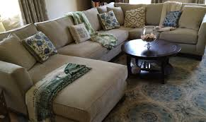 decorate deep sectional sofa with pillows u2014 the decoras