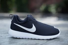 rosh run nike roshe run slip on black white nike roshe roshe and black