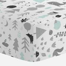 mint crib sheets fitted sheet for cribs carousel designs