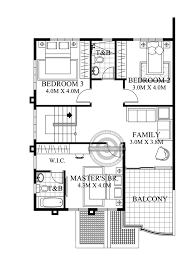 Floor Plan Two Storey House Andres Two Storey House With Firewall Amazing Architecture Magazine
