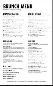 brunch menu templates musthavemenus 128 found