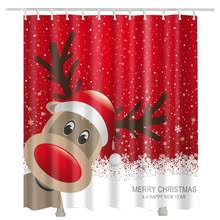 popular christmas shower curtain buy cheap christmas shower