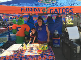 florida georgia fans all decked out in rv city ahead of game