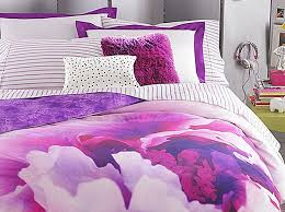beautiful bedroom ideas for teen with vogue bedding and purple