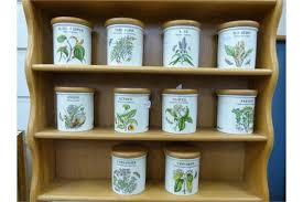 18 Jar Spice Rack A Portmeirion Herb And Spice Rack With 18 Spice Jars