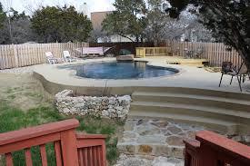 luxury pool builder river rock pools wimberley tx