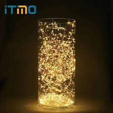 copper wire lights battery itimo 5m led string lights battery operated copper wire string fairy