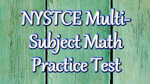 free nystce multi subject math practice test questions youtube