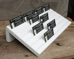 a custom sized jewelry card or business card holder available in 6