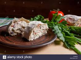 Cottage Dill Bread by Pieces Of Thin Armenian Pita Bread Or Lavash Wrapped Tomatoes