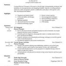 Massage Resume Therapeutic Recreation Specialist Sample Resume