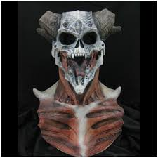 devil skull mask halloween latex mask mad about horror