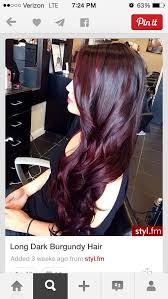 coke blowout hairstyle 48 best cherry bombre cherry cola images on pinterest colourful
