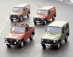 mercedes g class history mercedes g wagen turns 30 the 11 best special versions