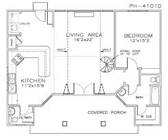 Pool House Plans With Bedroom by 1 Bedroom Pool House Plans Click To Enlarge Outside Living