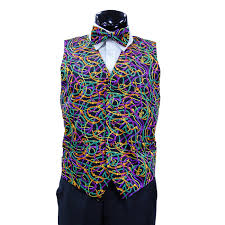 mardi gras bow tie mardi gras vest with matching bow tie 4 step n style fashion