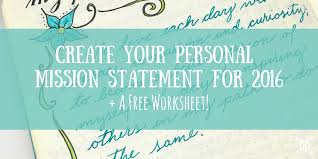 crafting your personal mission statement for 2016 boho berry