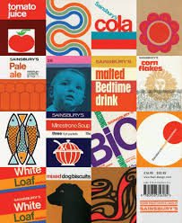 sainsburys 60s 70s home brand classic british images design and