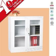 white glass storage cabinet two glass doors half height white corner storage cabinet with