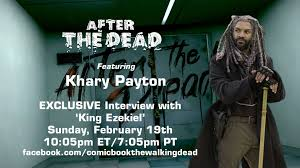 the walking dead u0027s khary payton live on after the dead sunday night