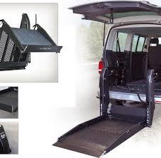 pedana per disabili pedane furgoni per disabili sollevatori in alluminio per veicoli