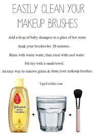 11 makeup cleaning hacks makeup brush cleaner