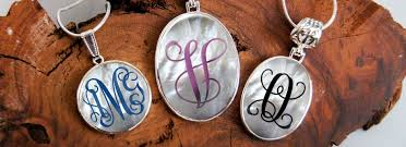 monogramed jewelry monogrammed jewelry authenticmonogram comauthenticmonogram