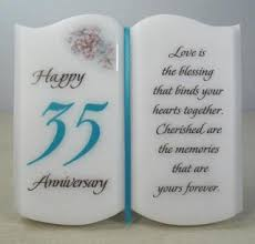 35 wedding anniversary always on two jade anniversary