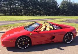 1998 f355 spider for sale no reserve 6 speed 1998 f355 gts w repaired dash