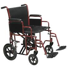 Drive Wheel Chair Drive Medical Bariatric Heavy Duty Transport Wheelchair With Swing