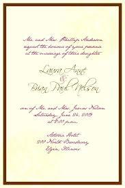 reception invite wording wedding invitation wording for church and reception or wedding
