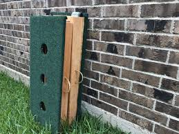 3 hole washer toss boards 8 washers included play backyard games