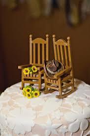 chair cake topper well sunflower cake toppers wedding 2 sheriffjimonline