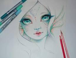 25 mermaid cartoon ideas drawings