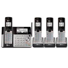 at u0026t four 4 handset cordless phone bundles at u0026t telephone store