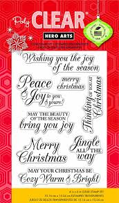 thanksgiving text messages friends amazon com hero arts merry christmas message clear stamps arts