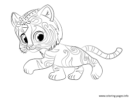 shimmer shine coloring pages free download printable