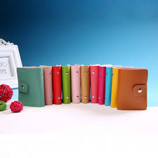 buy business card holder color pu leather card business card holder