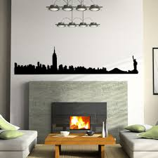 manhattan skyline nyc nyc skyline wall decal