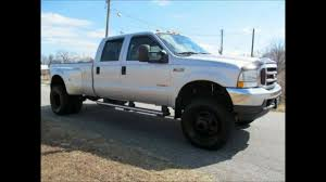 Ford Diesel Light Truck - 2004 ford f 350 diesel dually lariat lifted truck for sale youtube