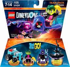 lego dimensions teen titans team pack raven beast boy