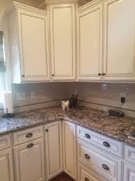 antique white finish kitchen cabinets 50 50 general finishes paint antique white snow white