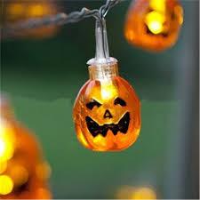 halloween mini pumpkins led lights outdoor led night light hanging