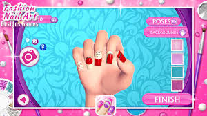 fashion nail art designs game android apps on google play