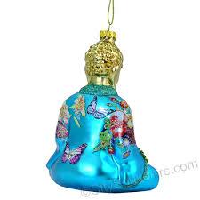 buddha glass ornament