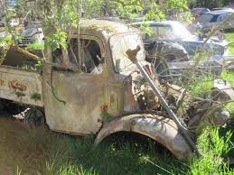 Old Ford Truck Graveyard - classic car graveyard in new zealand 100s of abandoned vintage
