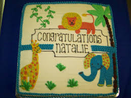 lion baby shower j j gandy u0027s pies inc baby shower cakes click on image to