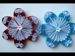 tutorial quilling flower quilling made easy how to make beautiful flower using paper paper